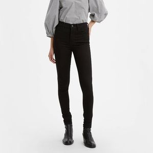 Nwt Levi's Black 720 High Rise Super Skinny Jeans